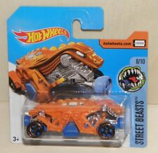 DOUBLE DEMON  Hot Wheels Modell Dämon mit zwei Köpfen  HW STREET BEASTS 2017 NEU