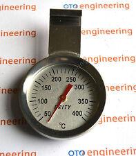 Acciaio Inox Forno Fornello Termometro termometro 400ºC 752ºF Prity