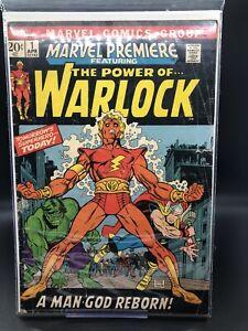 Marvel Premiere #1 The Power Of Warlock A Man God Reborn