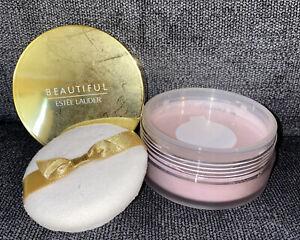 Estee Lauder BEAUTIFUL Perfumed Body Powder Opulent Luxury Shaker Case 1 oz NEW