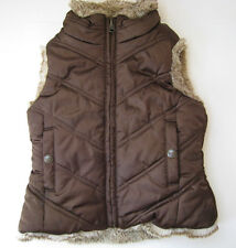 GAP FAUX FUR REVESIBLE VEST KIDS SIZE XS (4-5)  HOT RARE WARM