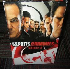 ESPRITS CRIMINELS (CRIMINAL MINDS): SEASON 2 6-DISC DVD SET, FRENCH/ENGLISH,GUC