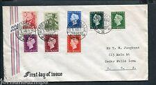 Ned.Indie, FDC Voorloper 18-5-1948, Inheemse dansers + Harz, adres naar Iowa