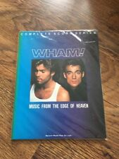 ❤️SUPER RARE SHEET MUSIC BOOK❤️Music From The Edge Of Heaven~George Michael Wham