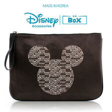 Disney Mickey Mouse Purse Clutch  Hand  Bag Pouch Character Circle Mickey Bag