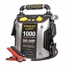Battery Jump Starter Air Compressor Portable Power Booster Jumper Cables Car RV
