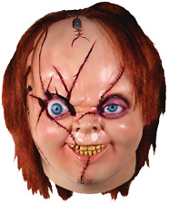 NEW 2017 Officially licensed  Bride of Chucky Version 2 Deluxe Full Head Mask