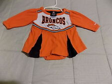 Nfl Denver Bronco Football Long Sleeve Romper-3/6M-100%Cotton