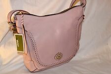 orYANY Pebble Leather Hobo- Cathy Handbag Purse - Antique Rose Pink