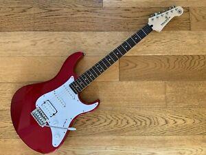 Yamaha Pacifica 012 Electric Guitar - Metallic Red - with Humbucker