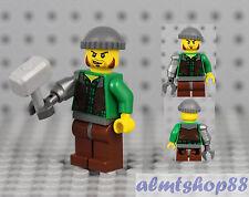 LEGO Monster Fighters - Jack McHammer Minifigure 9468 9465 Vampyre Castle