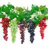 Weintrauben Rispe Trauben Kunstobst Kunstgemüse künstliches Obst Früchte Dekor