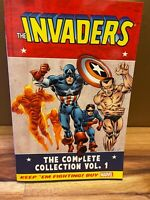 The Invaders The Complete Collection Volume 1 TPB Paperback MARVEL