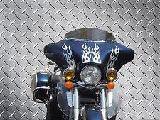 99-04 Kawasaki Vulcan 1500 Nomad Motorcycle Headlight Batwing Fairing - No Holes
