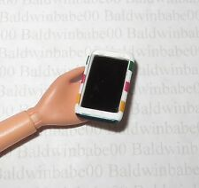 ACCESSORY ~ BARBIE DOLL HUDSON BAY STRIPED MINIATURE CELL PHONE FOR DIORAMA