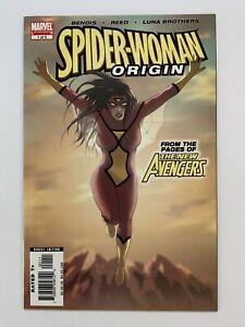 Spider-Woman Origin No1 Of 5.