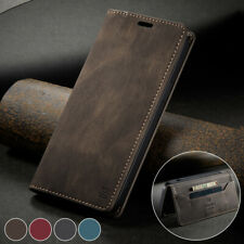 Flip Leather Wallet Stand Magnetic Case Cover For iPhone 8 Plus XS Max 12 Pro 13