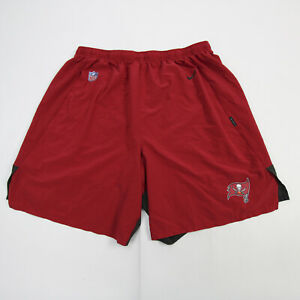 Tampa Bay Buccaneers Nike Dri-Fit Athletic Shorts Men's Red/Pewter Used