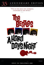 Hard Day's Night - original movie poster - 27x40 1999 Re-Release Beatles