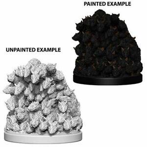 Pathfinder Deep Cuts Unpainted Miniatures Swarm of Rats