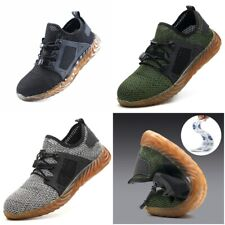 Air Safety Boots Indestructible Ryder Shoes Men Women Work Sneakers Steel Toe
