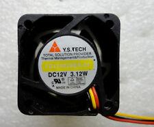 Y.S. Tech FD124028BB-2F 40*40*28 mm 40mm 4cm DC 12V 3.12W high speed cooling fan