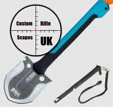 Multi survival Spade Shovel Function Tool with hollow handle for extra gear
