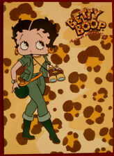 BETTY BOOP - Individual Card #12 - ANIMAL MAGNETISM - SAFARI OUTFIT