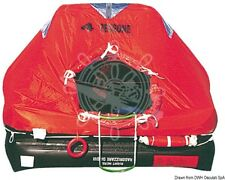 OSCULATI Med-Sea Professional Liferaft Vtr Case 10 Seats