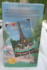 ENESCO I LOVE PARIS MULTI ACTION MUSIC BOX EIFFEL TOWER MICE 1991 RARE