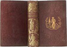 BRITISH NAVAL BIOGRAPHY HOWARD CODRINGTON NAVAL HISTORY ENGLAND 4TH ED HB 1853