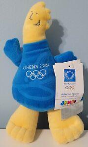 "10"" Olympics ATHENS 2004 Official PHEVOS Mascot Plush Doll Souvenir NWT"