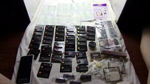Lot Of Mary Kay Samples-Cream Lip Stick, Brushes, ETC