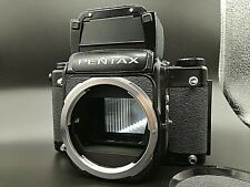 [ Excellent ++++ ] Pentax 67 LATE model body with Waist Level Finder from JAPAN