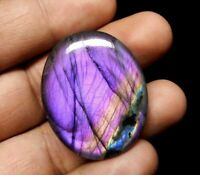 Purple Fire Spectrolite Labradorite Cabochon 100% Natural Multi Flash Gemstone
