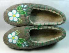 Valenki Traditional Russian Slippers 100% Wool Handmade Healthy Felt Shoes UK5.5
