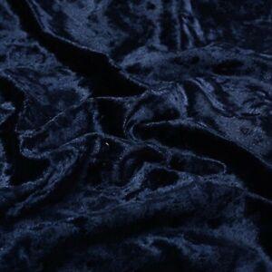 "Crushed Velvet Fabric 1Way Stretch 60"" Wide Dress Craft Wedding Decor Furnishing"
