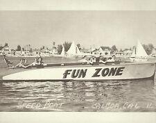 "NEWPORT BEACH Balboa FUN ZONE SPEED BOAT Print 1455 11"" x 14"""