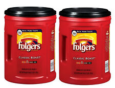 2-pack Folgers Classic Roast Ground Coffee (48 oz.) - FREE SHIPPING