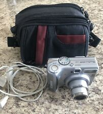 CANON PowerShot A540 Camera with Case, Cord, Great Condition WORKS!