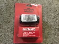 VOX amPlug I/O Guitar Headphone/USB Audio Interface w/tuner NIB