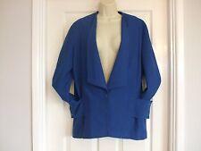 Whimsy Blazer Trendy Blu Vintage Taglia 12 da Donna da Sera Donna Inverno Lavoro