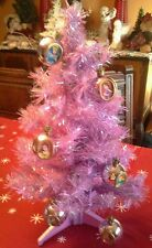 Rare Vintage Dysney Princess Christmas Tree Stand Ornaments Topper Decoration