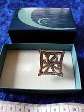 Pierre Lang Ring - Größe 6 - RH (rhodiniert) - Sammlerwert!