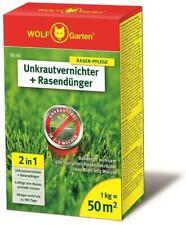 WOLF Original Garten 2-in-1 Unkrautvernichter plus Rasendünger Rasen-Pflege NEU