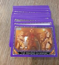 Topps 2020 Star Wars The Mandalorian Season 1 Bulk Purple Base Cards UK Seller