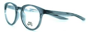 NIKE - 7113 020 49/20 - ANTHRACITE GRAY - NEW Authentic MEN EYEGLASSES Frame