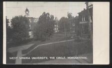 POSTCARD MORGANTOWN WV/WEST VIRGINIA UNIVERSITY CIRCLE CAMPUS BUILDING 1907