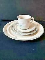 INTERNATIONAL TABLEWORKS MARMALADE 8868 1994 STONEWARE CHINA FOR 1 (LOT OF 4)