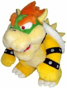 10 Inch Super Mario Plush Bowser Soft Stuffed Plush Toy Loose Kids Play
